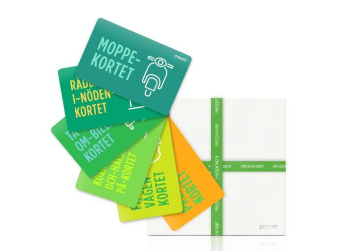 Preems arbete med presentkort öppnar många möjligheter.
