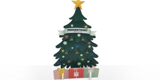 Presentkorten genomsyrar hela organisationen